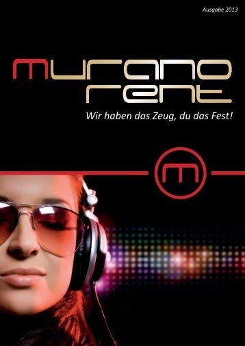 Wir haben das Zeug, du das Fest! - Murano-Bar