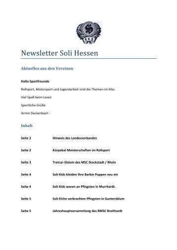 Newsletter Soli Hessen