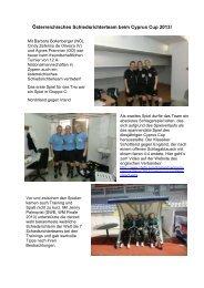 Österreichisches Schiedsrichterteam beim Cyprus Cup 2013!