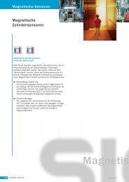 Magnetische Zylindersensoren - Nuova Elva