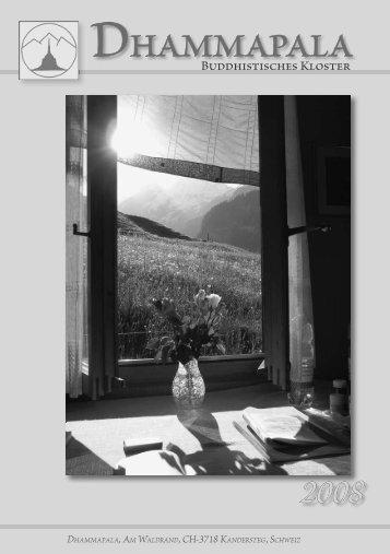 Umschlag DE2008_4_korr.indd - Kloster Dhammapala