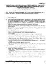 Allgemeine Verwaltungsvorschrift zum Wasserhaushaltsgesetz über ...