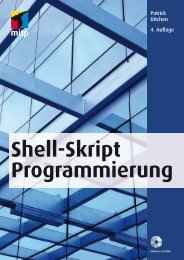 Shell-Skript Programmierung - Verlagsgruppe Hüthig Jehle Rehm ...