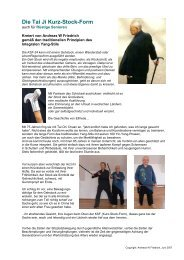 KSF - Institut Integrales Tai Ji Quan & Qi Gong Andreas W Friedrich
