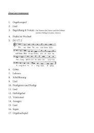 Der Ablauf des Gottesdienstes (pdf)