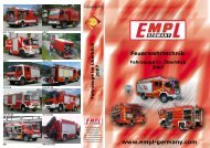 EMPL Fahrzeugwerk GmbH  F a h rz e u g e im Ü b e rb lic k 2 0 0 7