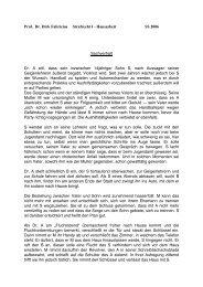 Prof. Dr. Dirk Fabricius Strafrecht I - Hausarbeit SS 2006 Sachverhalt ...