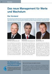 Das neue Management für Werte und Wachstum - Austria Metall AG