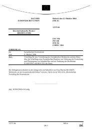 13371/04 - Öffentliches Register der Ratsdokumente - Europa