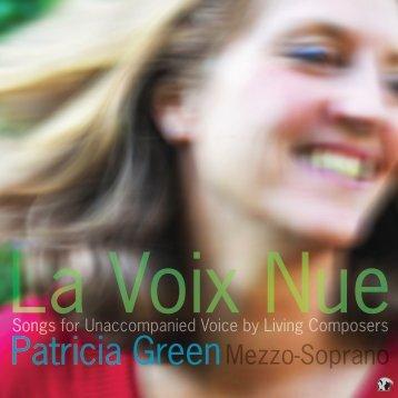 Download - Patricia Green, mezzo-soprano