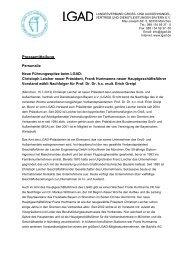 Pressemitteilung - Landesverband Groß