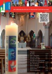 Pfarrbrief III 2012.indd - Bistum Hildesheim