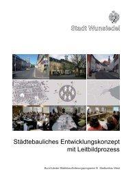 Stadt Wunsiedel Städtebauliches Entwicklungskonzept mit ...