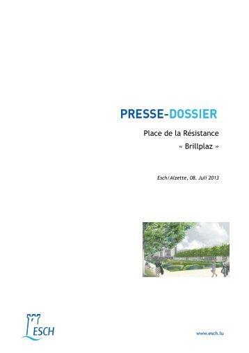 Place de la Résistance « Brillplaz » - Esch sur Alzette