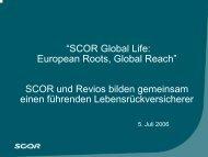 Revios - Scor