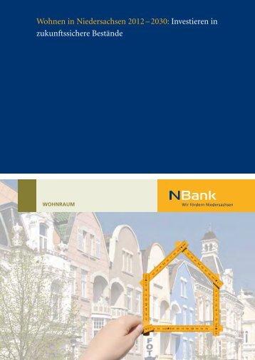 Investieren in zukunftssichere Bestände - bei der NBank