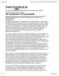 Die fröhlichere Wissenschaft - Potsdam Institute for Climate Impact ...