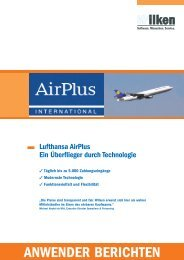 Lufthansa Airplus - Entire - Wilken GmbH