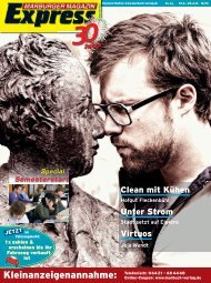 Marburger Magazin Express 16/2013 - ZMI