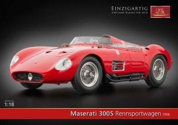 Maserati 300 S Rennsportwagen1956 - CMC