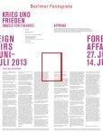 Abendprogramm Apparat - Berliner Festspiele - Seite 2