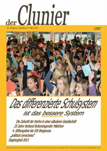Clunier 1/2013 - KMV Clunia Feldkirch