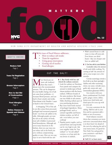 Food Matters No12, Fall 08.qxp:Convert Signature - NYC.gov