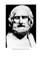 Euripides. (romeinse kopie); Napels, Nat. Mus. - Tresoar