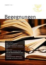 Zeitschrift Begegnungen_1/2013.indd - BCJ