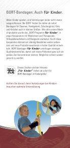 Bandagen für Kinder - Sanitätshaus Burbach + Goetz - Seite 3