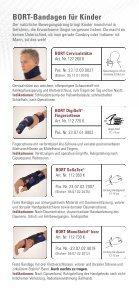 Bandagen für Kinder - Sanitätshaus Burbach + Goetz - Seite 4