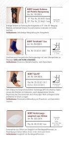 Bandagen für Kinder - Sanitätshaus Burbach + Goetz - Seite 7