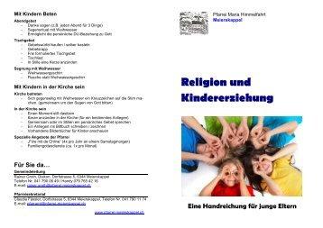 Religion-und-Kindererziehung.pdf - Pfarrei Maria Himmelfahrt in ...