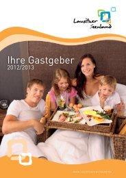 Gastgeberverzeichnis Lausitzer Seenland 2012/2013 - AG ...