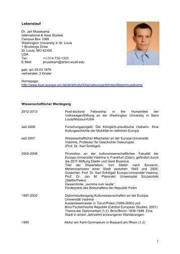 Wunderbar Probe Lebenslauf Bildung Und Training Fotos - Entry Level ...