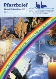 Pfarrbrief Weihnachten 2011 - Pfarreiengemeinschaft Utting ...