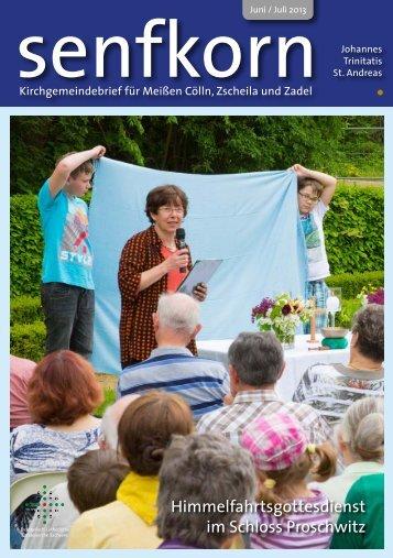 senfkorn als PDF-Datei - Johannesgemeinde Meissen