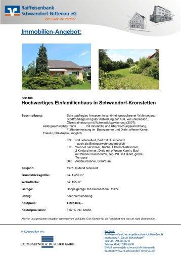Exposé (PDF) - Raiffeisenbank Schwandorf-Nittenau eG