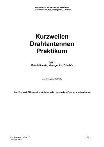 Drahtantenne Magazine