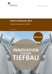 InnovAtIon - Holcim Schweiz