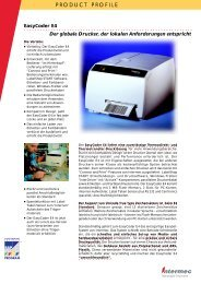 Intermec EasyCoder PC4 Datenblatt - ADC Distribution