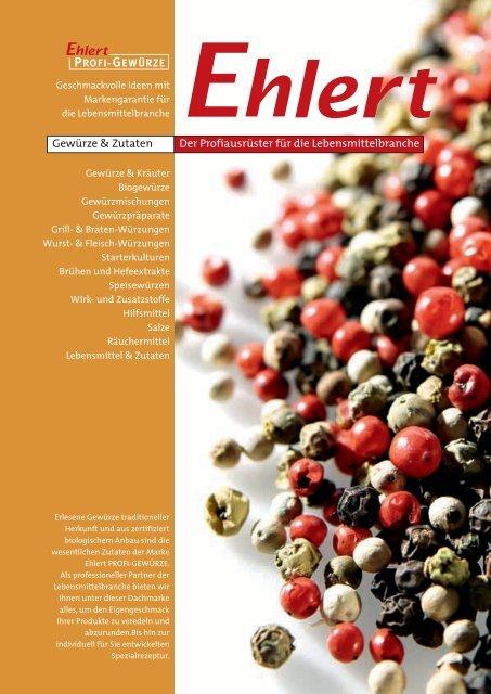 Der Katalog zum Download - Gustav Ehlert GmbH & Co. KG