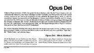 Opus Dei - Forum – für Politik, Gesellschaft und Kultur in Luxemburg