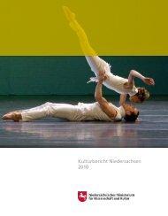 Kulturbericht Niedersachsen 2010 - Niedersächsisches Ministerium ...