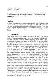 Martina Schwanke - Hermes - Journal of Linguistics