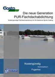 Die neue Generation PUR-Flachdachabdichtung - HBS