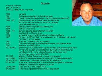 Download PDF - Biographie und Infos in deutsch - Pro Leben