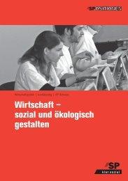 Wirtschaft – sozial und ökologisch gestalten - SP Schweiz