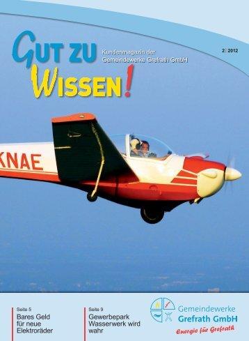Kundenmagazin - Gemeindewerke Grefrath
