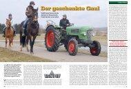 Bericht - Mit dem Traktor zum Nordkap